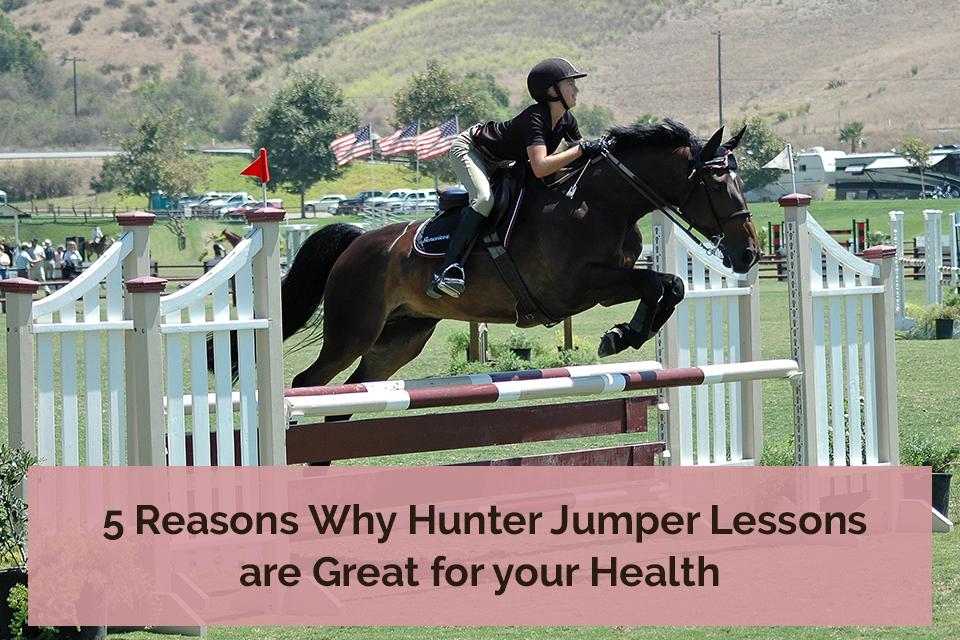 hunter jumper lessons