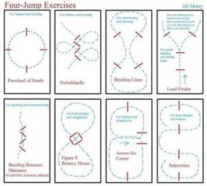 Four Jump Exercises